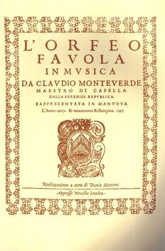 Claudio Monteverdi: L'Orfeo - Favola in Musica Sv.318