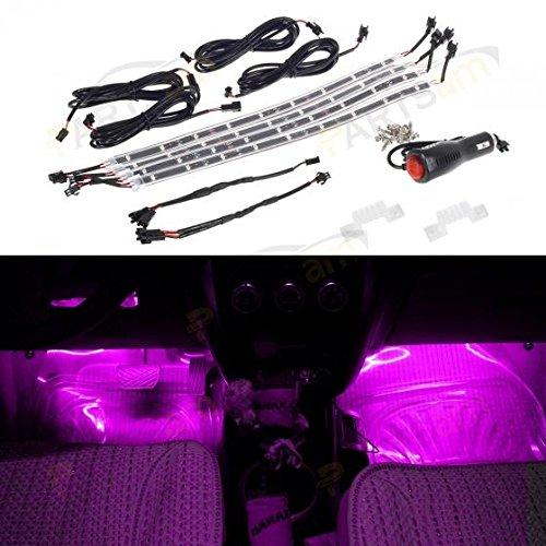 Partsam LED Car Strip Tube x 4 Under Light Neon