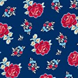 Elise Premium Patterned Beverage Napkins, 24 Count, Vintage Modern - Tea Roses