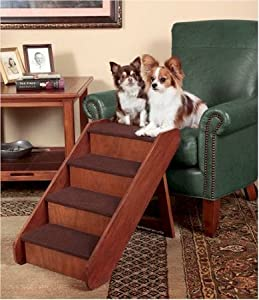 """PupStep Wood Pet Stairs Size: Large (20"""" H x 16"""" W)"""