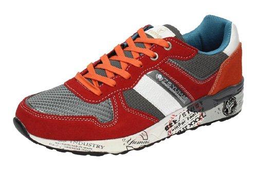 Yumas, Scarpe outdoor multisport uomo rosso rosso