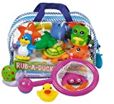 Partner Jouet A0905458 - Bolsa con juguetes para el ba�o (11 unidades)