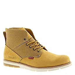 Levis Men\'s Jax Engineer Boot, Wheat, 8 M US