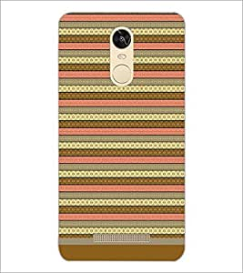 PrintDhaba Tribal pattern D-1805 Back Case Cover for XIAOMI REDMI NOTE 3 (Multi-Coloured)