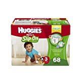 Huggies Little Movers Slip-On Diapers, Size 3, Big Pack