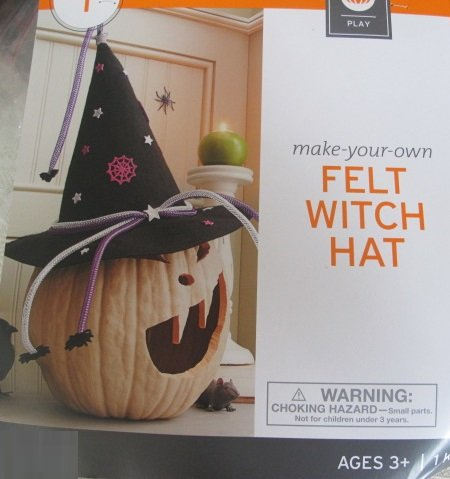 Make Your Own Felt Witch Hat - 1