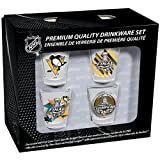 Pittsburgh Penguins 2016 Stanley Cup Champions 4pc 2oz Collector Shot Glass Set