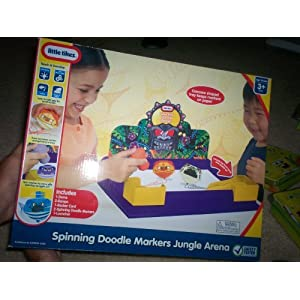 Little Tikes Spinning Doodle Markers - Jungle Arena