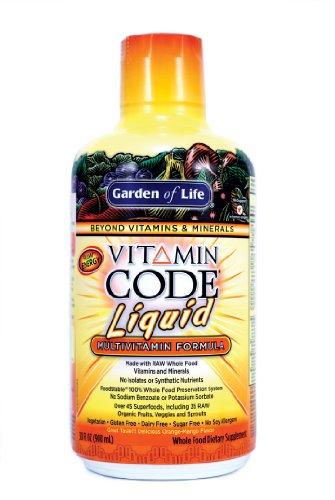 Garden of Life Vitamin Code, Liquid Multi, 2.30-Pound