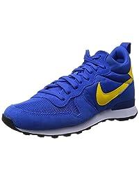 Nike Men's Internationalist MID , HYPR CBLT/TR YELLOW-GYM BLUE-WHITE