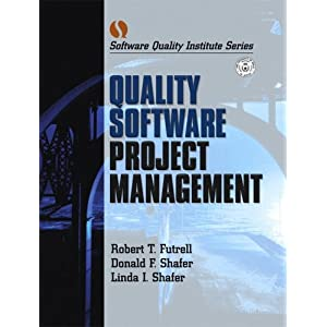 Quality Software Project Management (Software Quality Institute Series)