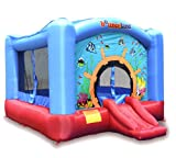 Inflatable drinking water Slides:Wild Reef blow up Bounce home bouncer