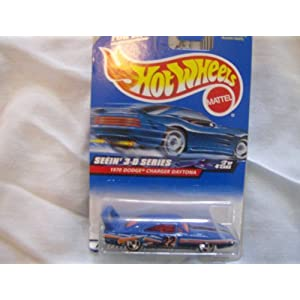 Hot Wheels Seein 3-d Series 1970 Dodge Charger Daytona 1:64 Scale 5-SPOKE