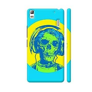 Colorpur Dead Rockstar Designer Mobile Phone Case Back Cover For Lenovo A7000   Artist: Abhinav