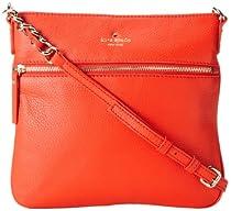 kate spade new york Cobble Hill Ellen PXRU2233 Cross-Body Bag,Maraschino,One Size