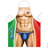 Italia Mann Grillschürze Kochschürze sexy Mann - FRIP -Versand®