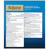 Mens Rogaine Hair Regrowth Treatment, Extra Strength - 3 Month Supply