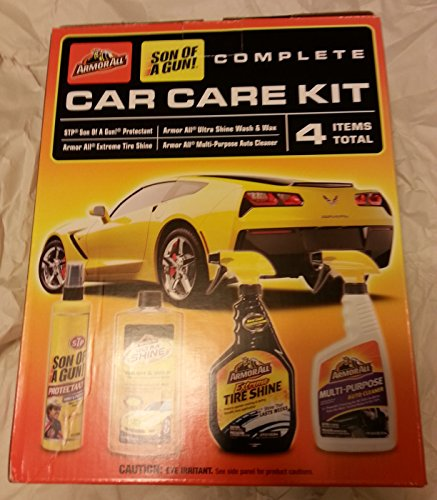 top products best review armor all son of a gun 4 piece car care kit automotive car care. Black Bedroom Furniture Sets. Home Design Ideas