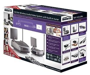 Marmitek tv anywhere 5 8 transmetteur antenne tv sans fil high tech - Prise antenne tv sans fil ...