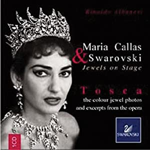 Maria Callas & Swarovski Jewels on Stage