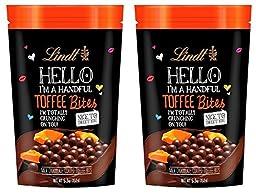 Lindt Lindor Hello I\'m A Handful Toffee Bites, 5.3 oz (2 Pack)