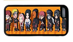 Japanese Anime Naruto Golden Flash Uzumaki Poster Design For Iphone 5C Hard Back TPU Rubber Case