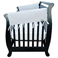 Trend Lab Cotton CribWrap Wide Rail Covers for Crib Sides (Set of 2) by Trend Lab