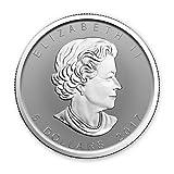 2017 CA Canada 1 oz Silver Maple Leaf Lunar Rooster Privy BU $5 Gem Brilliant Uncirculated Royal Canadian Mint