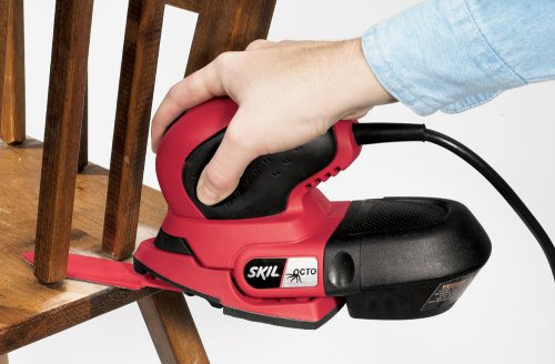 Skil 7300-01 Octo 1 Amp Detail Sander with Bag