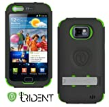 Trident Kraken AMS Series Case Cover for Samsung Galaxy S 2 i9100 - Green