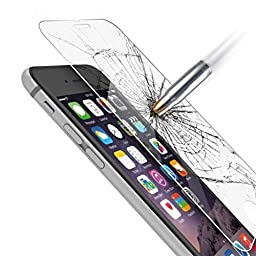 Creazy® 9H Genuine Tempered Glass Film Screen Protector for iPhone 6 6S 4.7inch