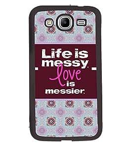 Printvisa 2D Printed Quotes Designer back case cover for Samsung Galaxy Mega 5.8 I9152- D4384