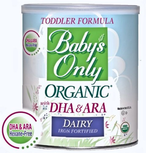 Baby'S Only Organic Baby Dairy With Dha & Ara Iron Formula 6X 12.7Oz