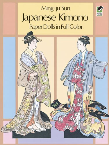 Japanese Kimono Paper Dolls