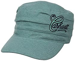 Carhartt Women's Cotton Moisture Wicking Sweatband Everton Cap,Coast Blue Heather,One Size
