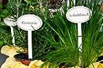 """Einzelne Gartenstecker, z.B. """"Salbei""""..."""