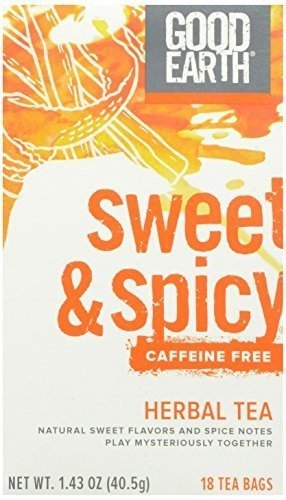 Good Earth, Original Sweet & Spicy Caffeine Free Herb Tea, 18 ct (Global Goods compare prices)
