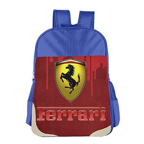 launge-kids-ferrari-logo-school-bag-backpack