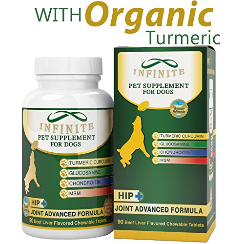 All-Natural-Hip-Joint-Supplement-for-Dogs-With-Glucosamine-Chondroitin-MSM-and-Organic-Turmeric-Improves-Mobility-and-Eases-Discomfort-Best-for-Large-Small-Dog-90-Chewable-Treats