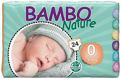 Bambo Nature Diapers-Preemie-24 Count - 1