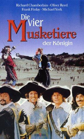Die vier Musketiere der Königin [VHS]