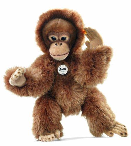 Steiff 45cm Bongo Dangling Orangutan (Brown)