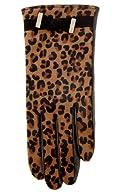 Leopard pony glove