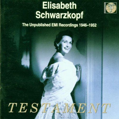 Elisabeth Schwarzkopf: The Unpublished EMI Recordings, 1946-1952 by Johann Sebastian Bach,&#32;Wolfgang Amadeus Mozart,&#32;Elisabeth Schwarzkopf,&#32;Giuseppe Verdi and Giacomo Puccini