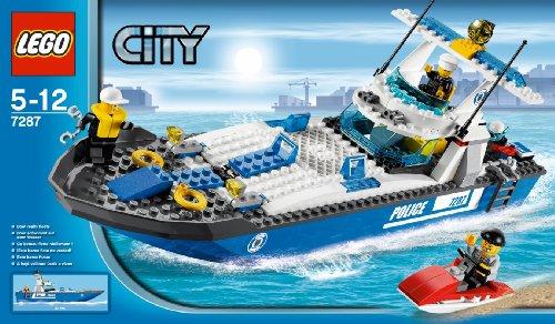 Lego City Books Lego City 7287 Police Boat