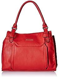 Caprese Women's Satchel (Red)