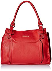 Caprese Women's Satchel (Red)