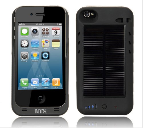 iPhone 4 Solar Battery Charger Case
