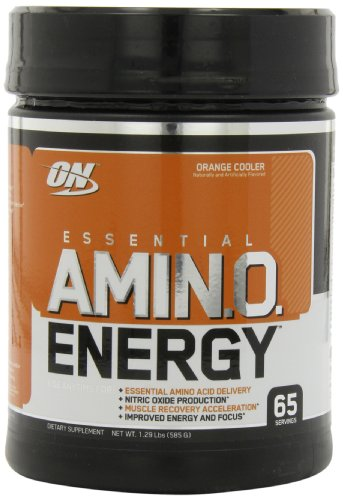Optimum Nutrition  Amino Energy 65 Servings, Orange Cooler, 585 Grams