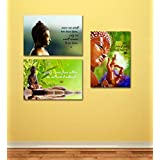 Tallenge - Buddha Quotes - 3 Poster Set - A3 Size Unframed Rolled Posters (11.7 Inches X 16.5 Inches Each)